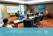 Engineers from Wind Talker Innovations collaborate in Lakeland, FL