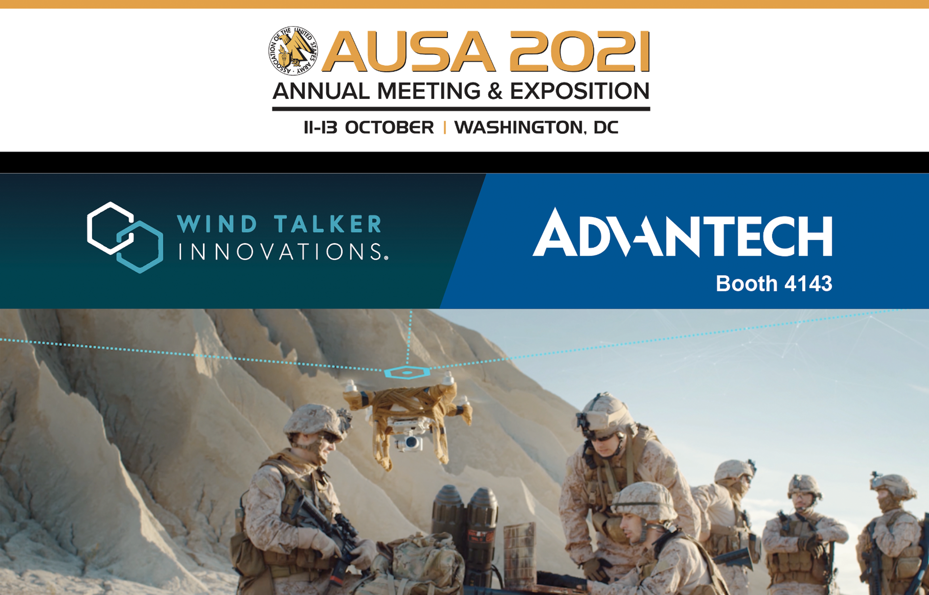 Join Wind Talker Innovations® at AUSA 2021